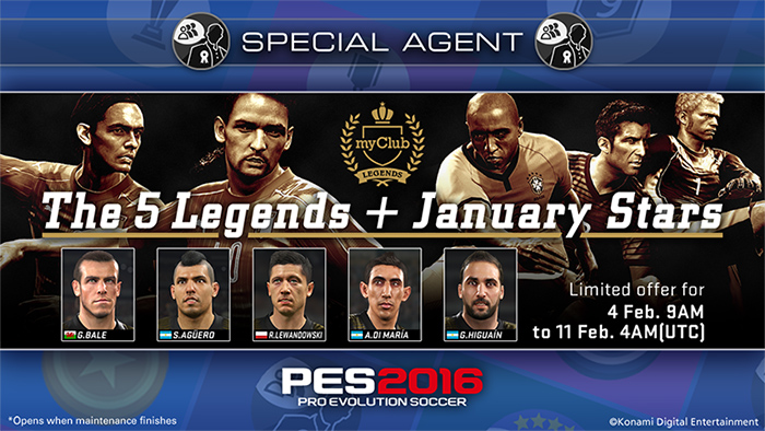 The 5 LEGENDS + January STARS