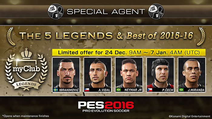 The 5 LEGENDS & Best of 2015-16