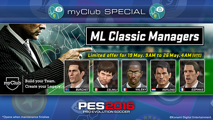 ML Classic Managers