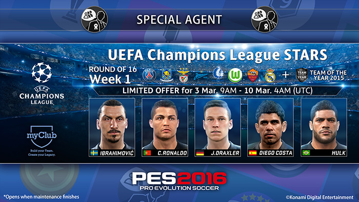 UEFA Champions League Stars R16 Week 1