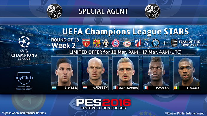 UEFA Champions League Stars R16 Week 2