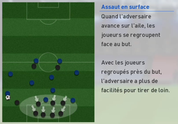 PES 2017 - Assaut en surface