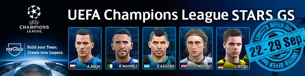 UEFA Champions League Stars GS