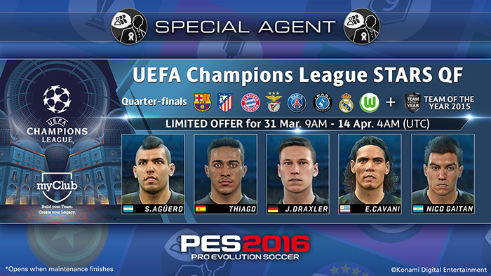 UEFA Champions League STARS QF