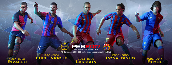 PES2017 Barca legend