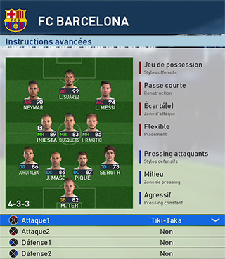 PES 2017 - FC Barcelone