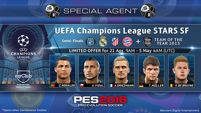 UEFA Champions League Stars SF