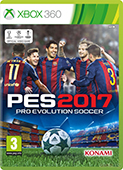 PES 2017 Xbox360 Cover
