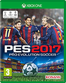 PES 2017 Xbox One Cover