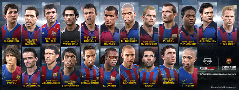 PES2017 FCB Legends