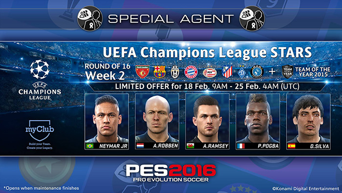 UEFA Champions League Stars Week2