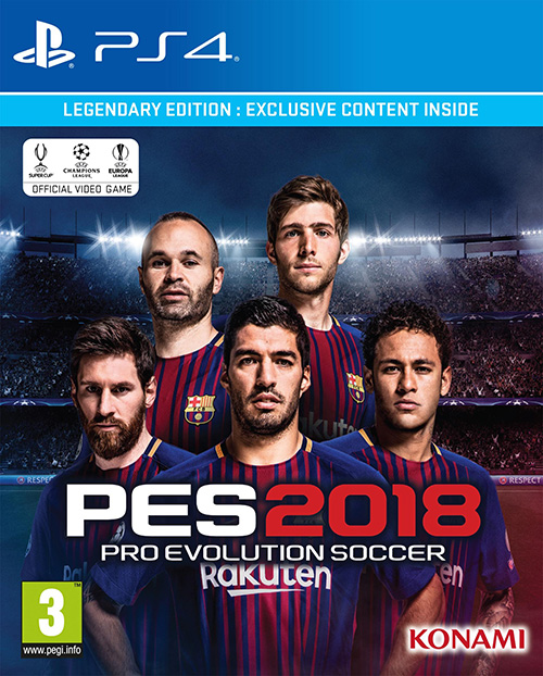 PES2018 cover Legendary Edition #1