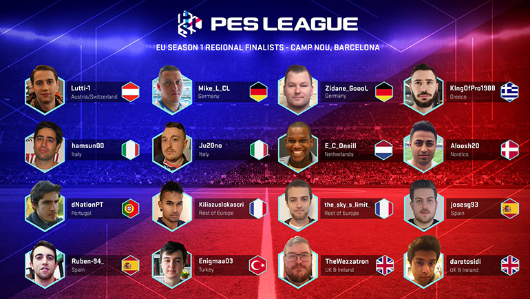 Qualifié S1 Finale Régionale PES League Road to Cardiff