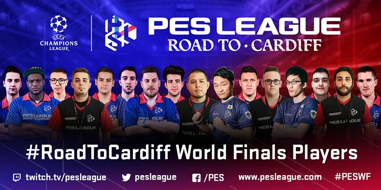 Qualifiés PES World Finals PES 2017