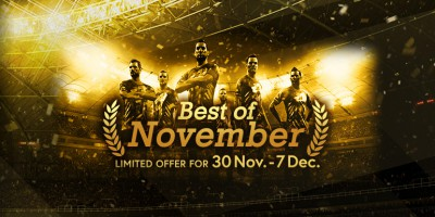 PES 2018 - myClub: Best of November