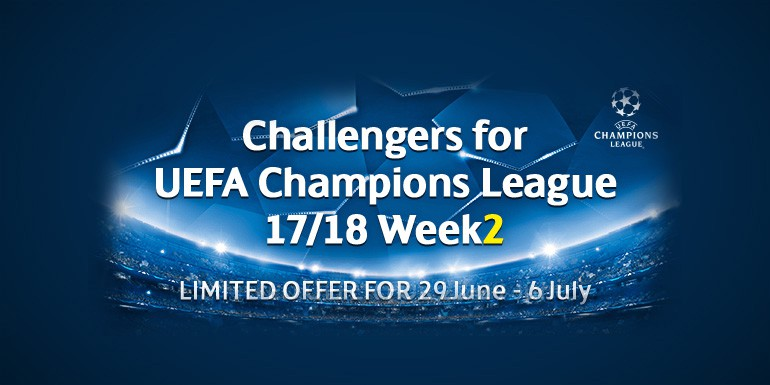 PES 2017 - myClub: Challengers for UCL 17/18 Week2 + LFC Challenge vol.2