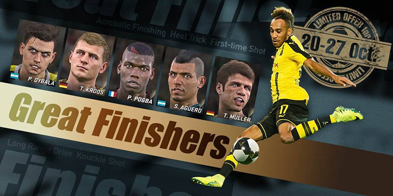 PES 2017 - myClub: Great Finishers