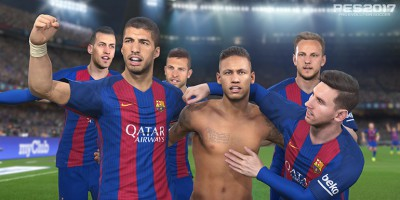 PES 2017 - FC Barcelone: Trailer & images