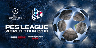 PES League World Tour 2018 - C'est parti !