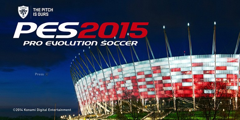 PES 2015 - Patch 1.03 & DLC 3.00