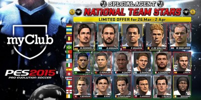 PES 2015 - myClub: NATIONAL TEAM STARS
