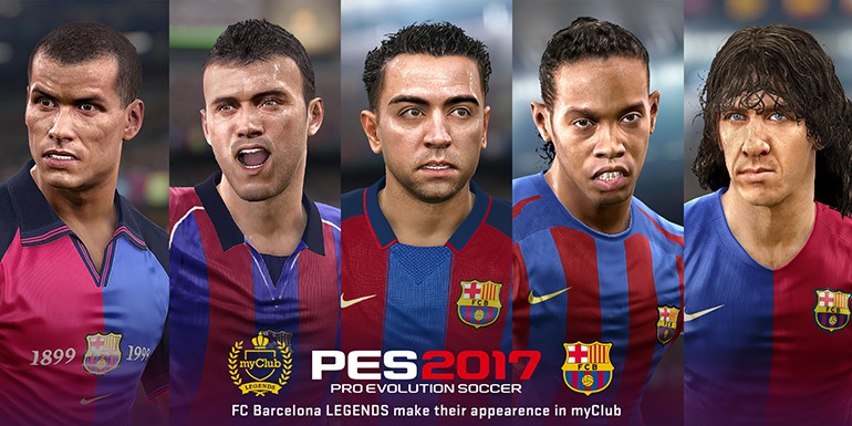 PES 2017 - myClub: Iconic STARS + FC Barcelona LEGENDS & Summer Star Signings