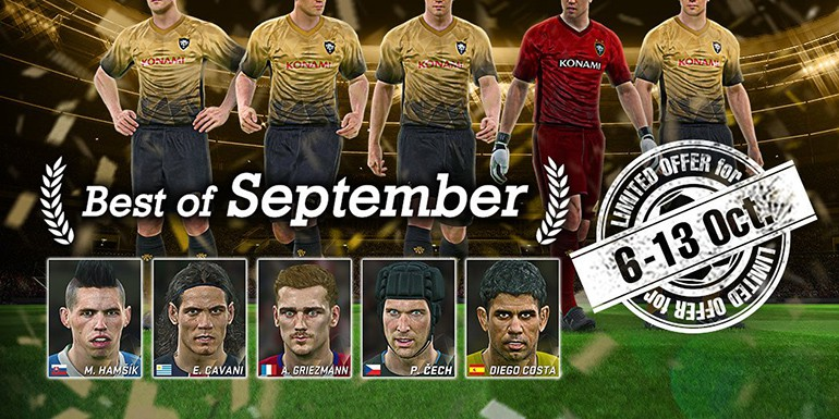 PES 2017 - myClub: Best of September