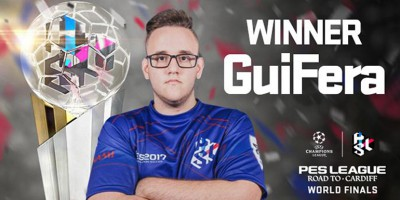 PES League - Road to Cardiff: Guifera remporte la Finale Mondiale