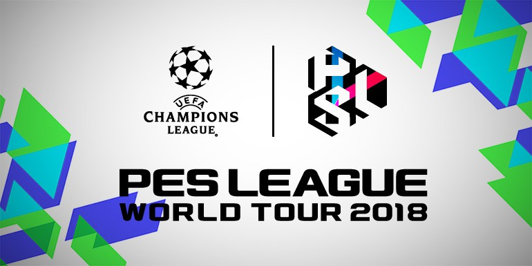 PES League World Tour 2018: Compétition eSports de l'UEFA Champions League