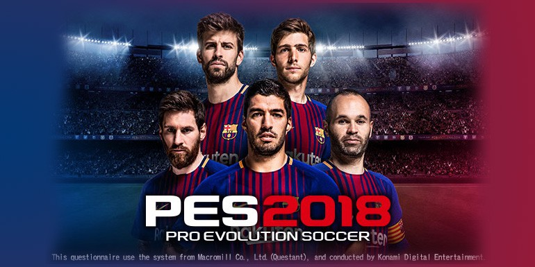 PES 2018 - Questionnaire officiel