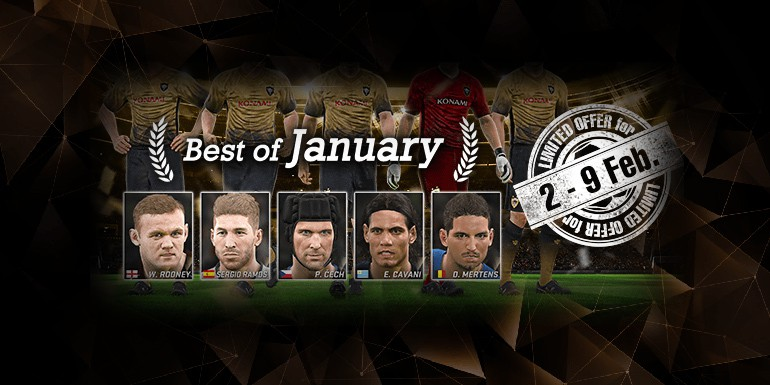 PES 2017 - myClub: Best of January + UEFA TOTY