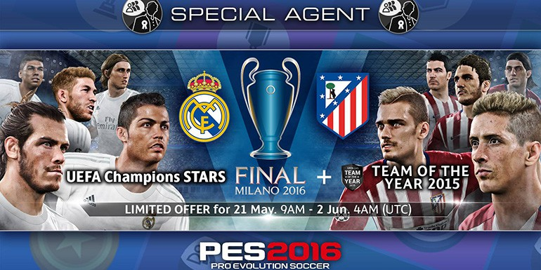 PES 2016 - myClub: UEFA Champions League STARS Final