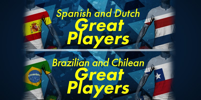 PES 2018 - myClub: European & South American STARS