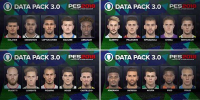 PES 2018 - Le Data Pack 3.0 sera disponible le 15 février
