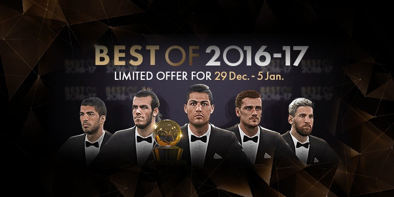 PES 2017 - myClub: Best of 2016-17