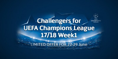 PES 2017 - myClub: Challengers for UCL 17/18 Week1 + LFC Challenge vol.1