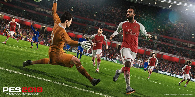 PES 2018 - Patch 1.04 & DLC 3.00