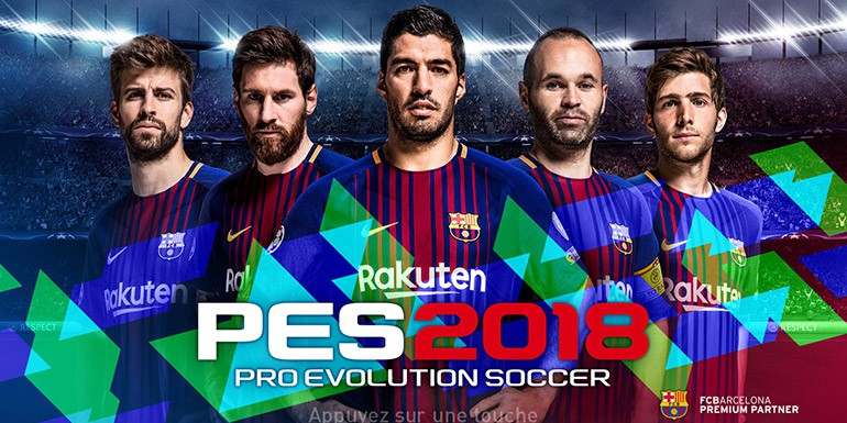 PES 2018 - Patch 1.02 & DLC 1.00