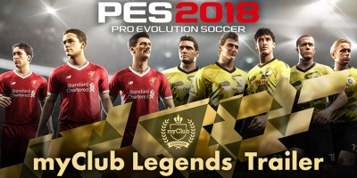 PES 2018 - myClub Legends Trailer