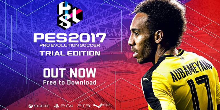 PES 2017 - Trial Edition disponible