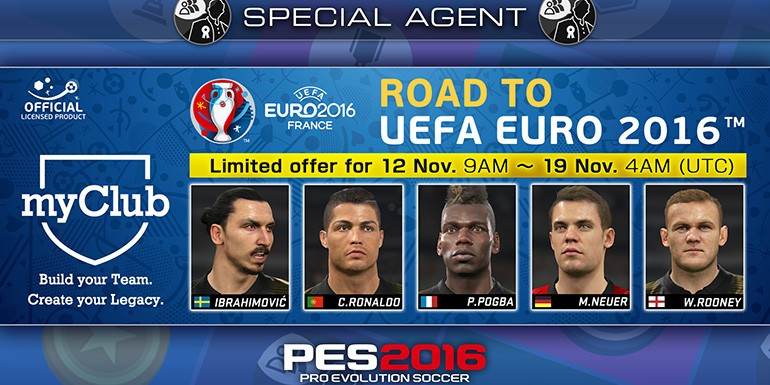 PES 2016 - myClub: Road to UEFA EURO 2016 STARS - Play-off
