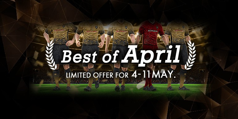 PES 2017 - myClub: Best of April + World STARS