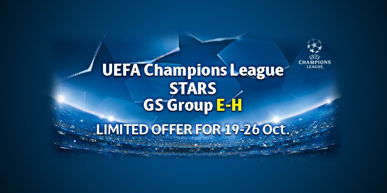 PES 2018 - myClub: UEFA Champions League STARS GS Group E-H