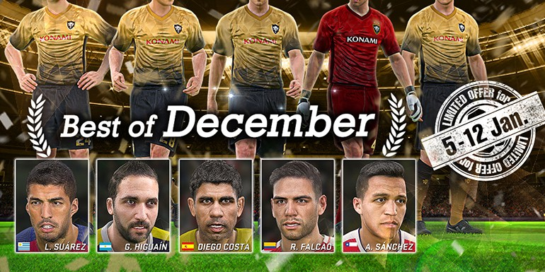 PES 2017 - myClub: Best of December