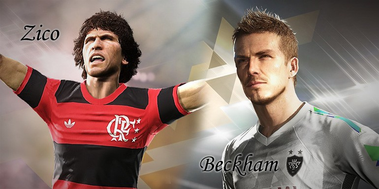 PES 2018 - myClub: Legends Zico, Legends Beckham + PES Selection