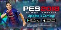 L'application mobile PES 2018 sera disponible en novembre 2017