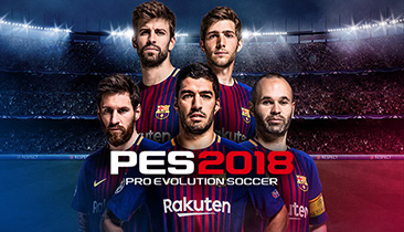 Site officiel PES 2018